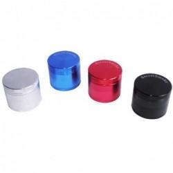 Grinder Secret Smoke 40 mm 4 Partes (negro,azul,rojo,plata)
