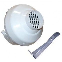 Extractor Tubular VK 200 Plástico (790 m3/h) VENTS
