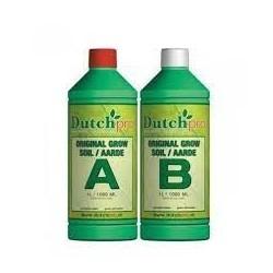 Tierra A+B agua blanda Dutch Pro