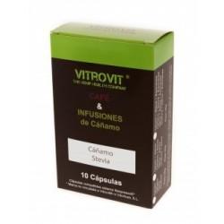 Infusión En Cápsulas De Cáñamo Y Stevia 10u